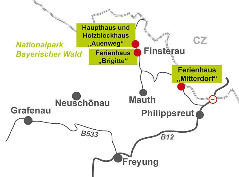 ferienhaus brigitte am nationalpark bayerischer wald exklusive ferienwohnungen in bayern. Black Bedroom Furniture Sets. Home Design Ideas